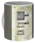 1900 Knife Switch Patent Coffee Mug