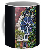 1901 Antique Uab Gothic Stained Glass Window Coffee Mug