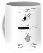 1902 Baseball Bat Patent Coffee Mug