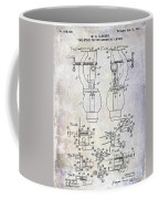 1902 Watchmakers Lathes Patent Coffee Mug