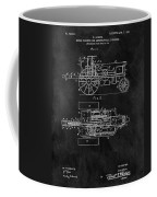 1903 Tractor Blueprint Patent Coffee Mug