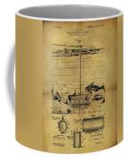 1904 Fishing Decoy Patent Coffee Mug