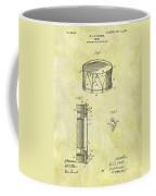 1905 Drum Patent Coffee Mug