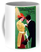 1905 Prague Fashion Poster Coffee Mug