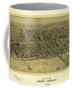 1906 Bird's Eye View Coney Island Coffee Mug