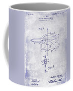 1906 Oyster Shucking Knife Patent Blueprint Coffee Mug