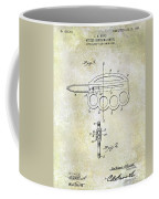 1906 Oyster Shucking Knife Patent Coffee Mug
