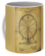 1907 Ferris Wheel Patent Coffee Mug