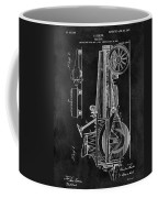 1907 Tractor Blueprint Patent Coffee Mug