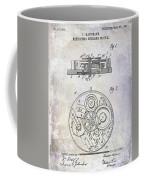 1908 Pocket Watch Patent  Coffee Mug