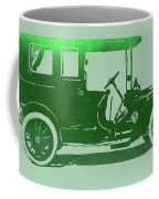 1909 Packard Limousine Green Pop Coffee Mug