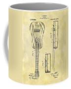 1911 Guitar Patent Coffee Mug