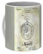 1913 Pocket Watch Patent Coffee Mug