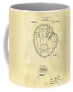 1916 Baseball Glove Patent Coffee Mug