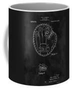 1916 Baseball Mitt Patent Coffee Mug