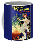 1919 Waterman Fountain Pen Coffee Mug