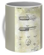 1920 Paring Knife Patent Coffee Mug