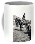 1920s Native And Crowd Coffee Mug