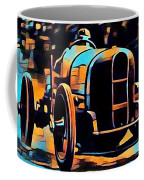 1920's Racing Car Coffee Mug