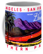1922 Daylight Railroad Train Coffee Mug