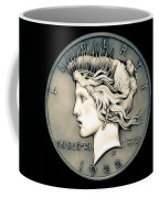 1922 Ghost Peace Dollar Coffee Mug
