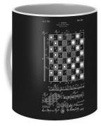 1923 Checkers And Chess Board Coffee Mug