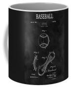 1924 Baseball Patent Illustration Coffee Mug