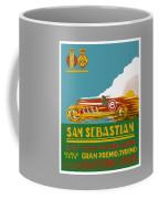 1926 San Sebastian Grand Prix Racing Poster Coffee Mug