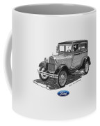 1928 Model A Ford 2 Dr Sedan Coffee Mug by Jack Pumphrey
