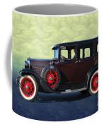 Historical Ford 4 Door Sedan Coffee Mug
