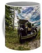 1930 Chevy On The Shore Of Higgins Lake Coffee Mug