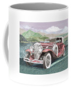 1930 Model J  Duesenberg Coffee Mug