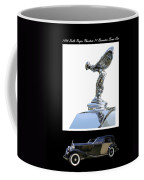 1930 Rolls Royce Mascot And Car Coffee Mug