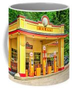 1930s Shell Gas Station Coffee Mug