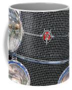 1931 Cadillac Phaeton Grille And Headlights Coffee Mug
