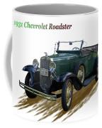 1931 Chevrolet Antique Roadster Coffee Mug
