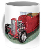 1932 Ford Hi-boy Hot Rod Coffee Mug
