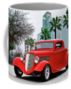 1933 Ford 'three Window' Coupe II Coffee Mug