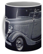1934 Ford Roadster Coffee Mug