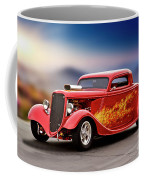 1934 Ford 'three Window' Coupe I Coffee Mug