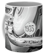 1935 Black And White Coffee Mug by Gary Gillette