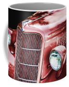 1935 Ford Sedan Hood Coffee Mug