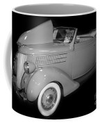 1936 Ford Rumble Seat Cabriolet  Coffee Mug