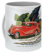 1936 La Salle Two Door Touring Sedan Coffee Mug