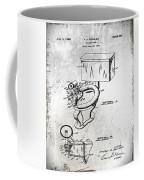1936 Toilet Bowl Patent Antique Coffee Mug
