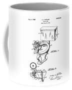 1936 Toilet Bowl Patent Coffee Mug