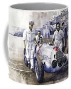 1937 Italian Gp Mercedes Benz W125 Rudolf Caracciola Coffee Mug