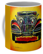 1937 Mercedes Benz First Wheel Down Coffee Mug by Eric Dee