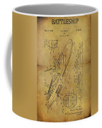 1938 Battleship Patent Coffee Mug