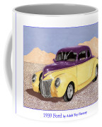 1939 Ford Deluxe Street Rod Coffee Mug